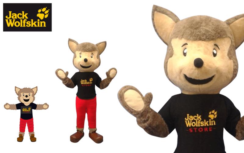 Maskottchen Kostüm - Jack Wolfskin - Promo Bears -