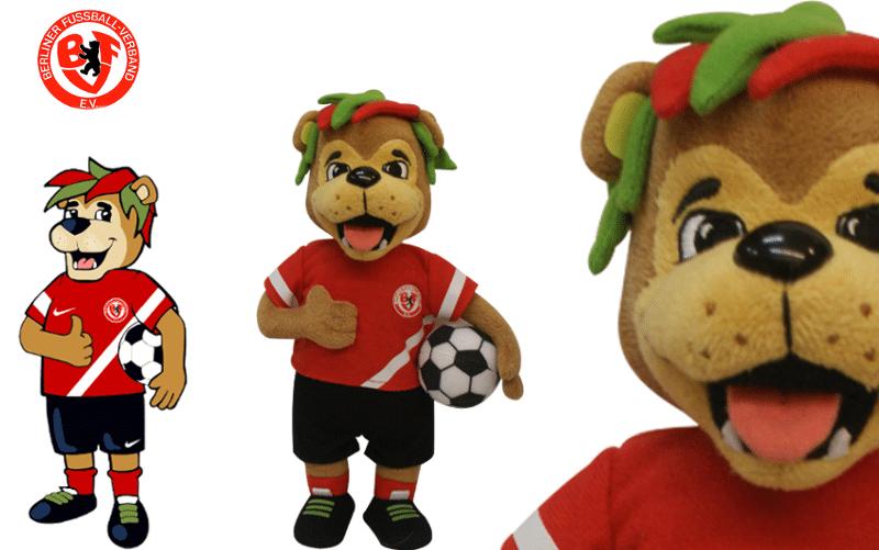 Plüschtiere - Berliner Fussball Verband - Icke -Promo Bears-