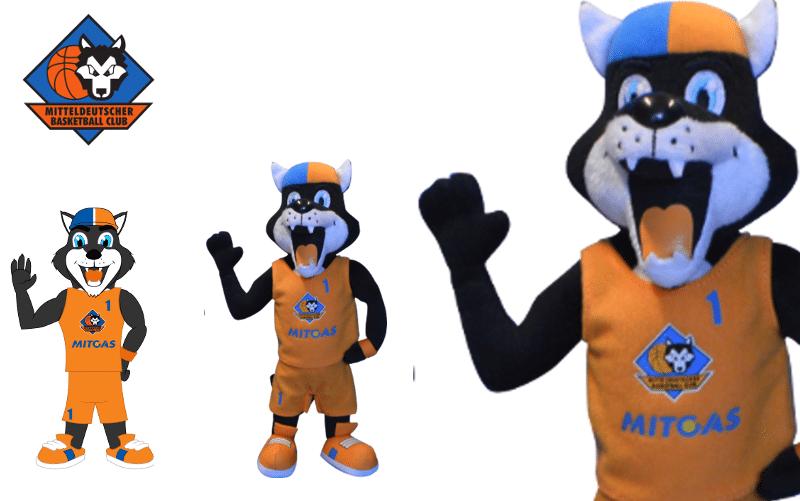 Plüschtiere - MBC - Wolf -Promo Bears