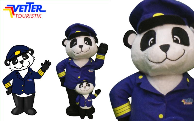 Plüschtiere - Vetter Touristik - Panda - Promo Bears
