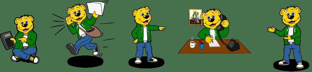 Ben Promo Bears 5 posen