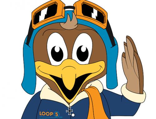 Ein Maskottchen entwerfen wie Loopi